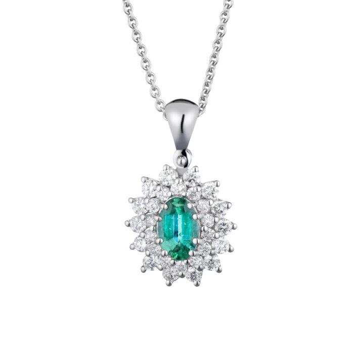 ciondolo smeraldo